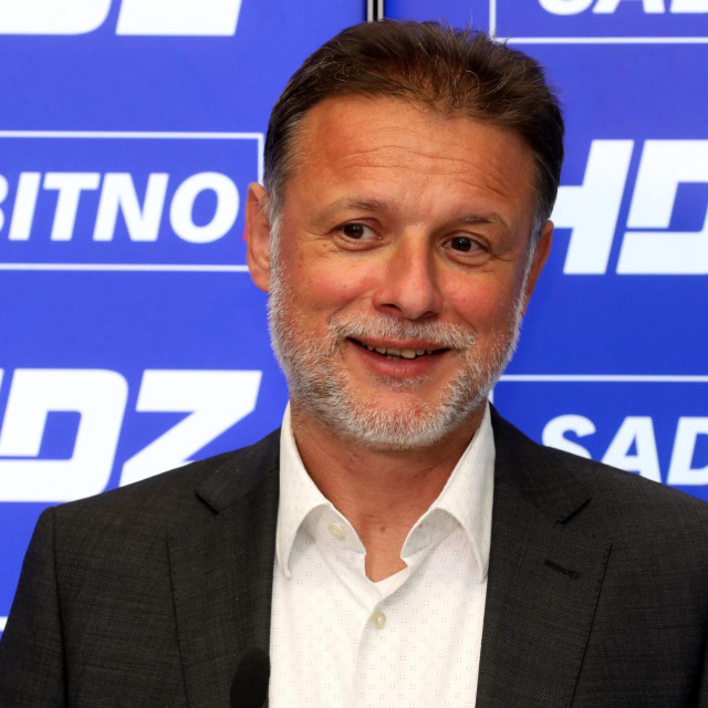 Gordan Jandroković u središnjici HDZ-a