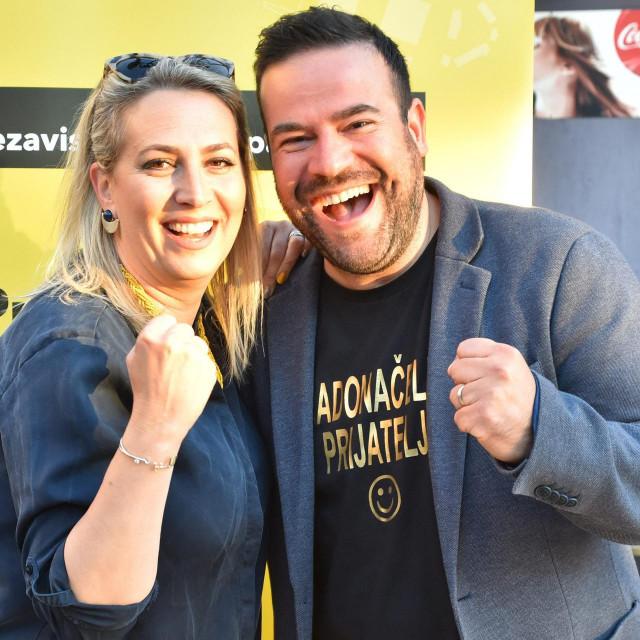 Filip Zoričić sa suprugom