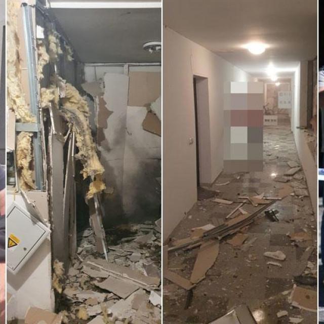Eksplozija u Laništu; Predstavnik suvlasnika stanara (lijevo)
