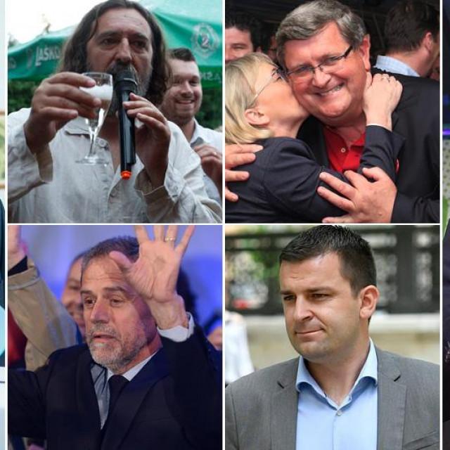 Željko Burić, Ivan Čehok, Vojko Obersnel, Milan Bandić, Dario Hrebak i Tomislav Tomašević