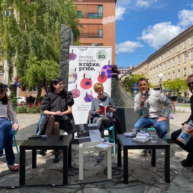 Roman Simić najavljuje Festival europske kratke priče