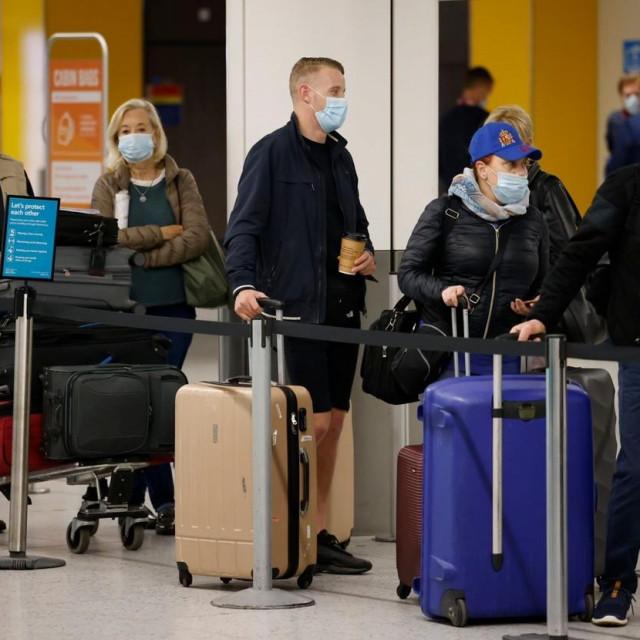Putnici u Zračnoj luci Gatwick