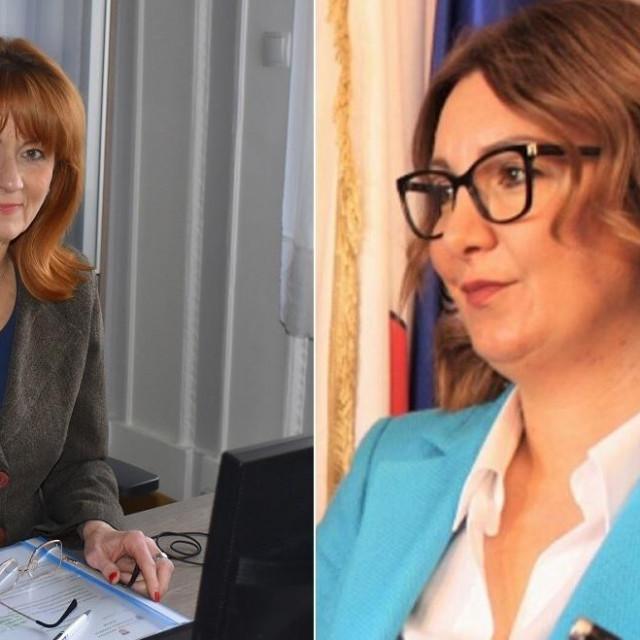 Martina Furdek Hajdin i Antonija Jozić