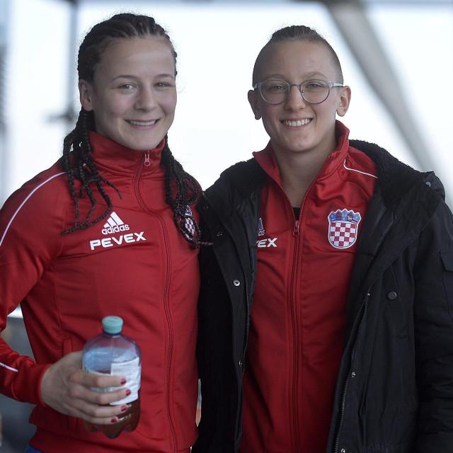 Marija Malenica i Nikolina Ćaćić<br />