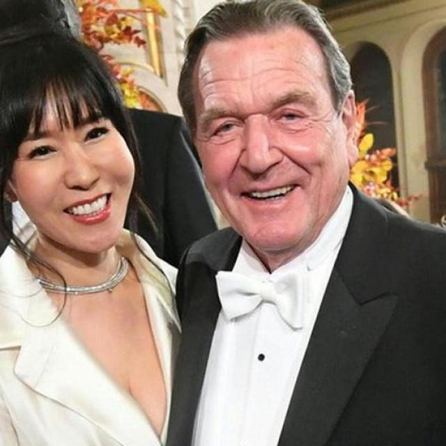 Soyeon KimSchröder i Gerhard Schröder