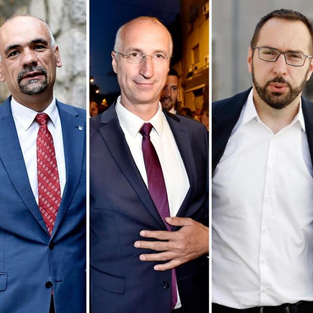 Marko Jelić, Ivica Puljak, Tomislav Tomašević, Filip Zoričić i Ivan Radić
