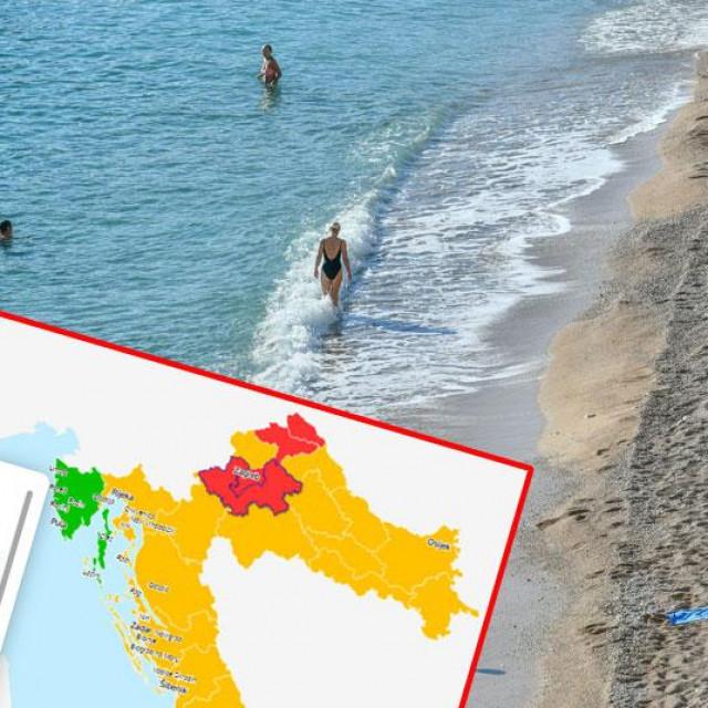 Covid karta Hrvatske