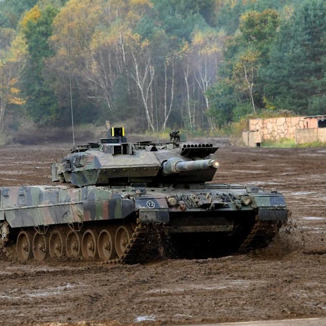 Tenk Leopard 2A7 Bundeswehra