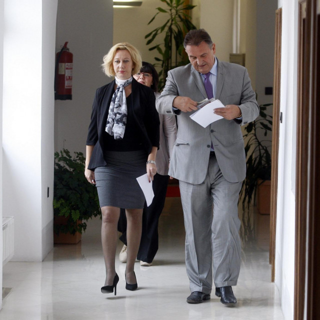 Radimir Čačić i Natalija Martinčević