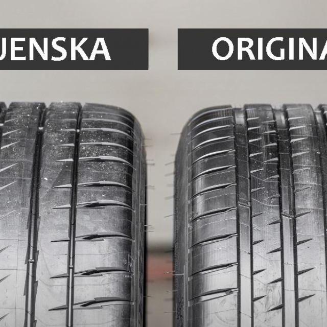 Usporedba zamjenske i originalne gume