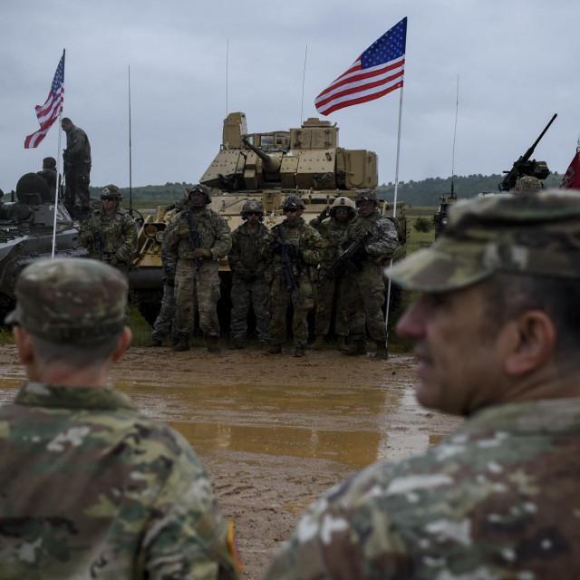 Američki vojnici na vježbi u Bugarskoj