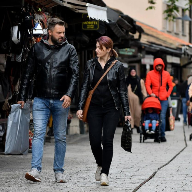 Prizor s ulica Sarajeva
