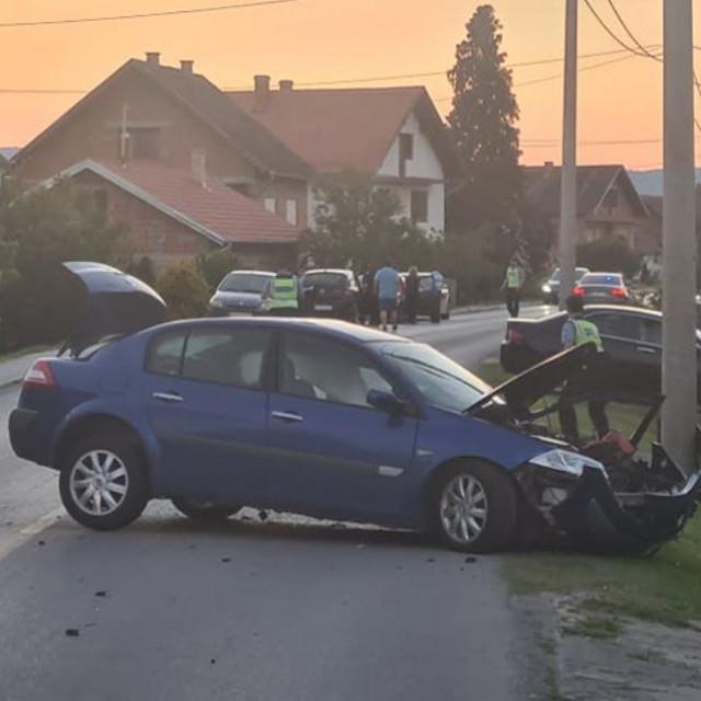 Prometna nesreća u Trenkovu