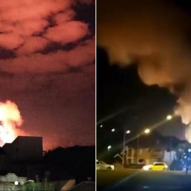 Eksplozije u Čačku
