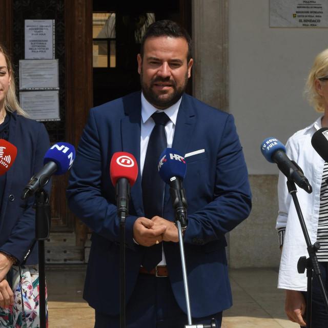 Sanja Radolović, Filip Zoričić i Dusica Radojčić