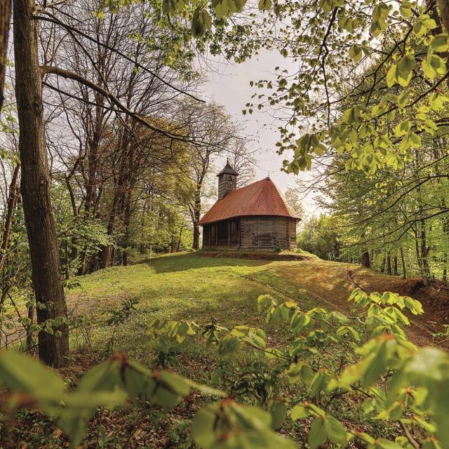Kapela Sv. Roka Cvetković Brdo.
