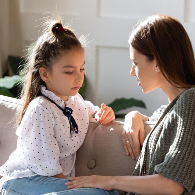 """Kada se djeci kaže da nešto što su učinili nije dovoljno dobro, ono što oni stvarno čuju je 'nisam dovoljno dobar""""."""