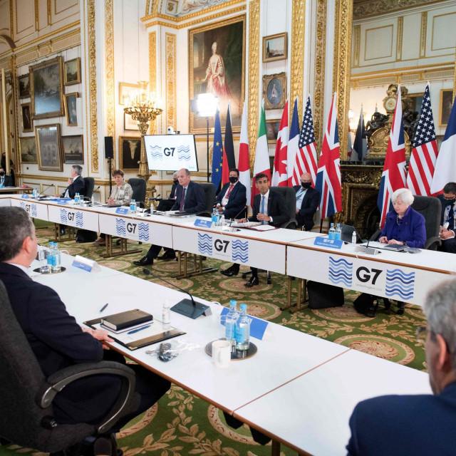 Sastanak ministara financija zemalja skupine G7 u Engleskoj