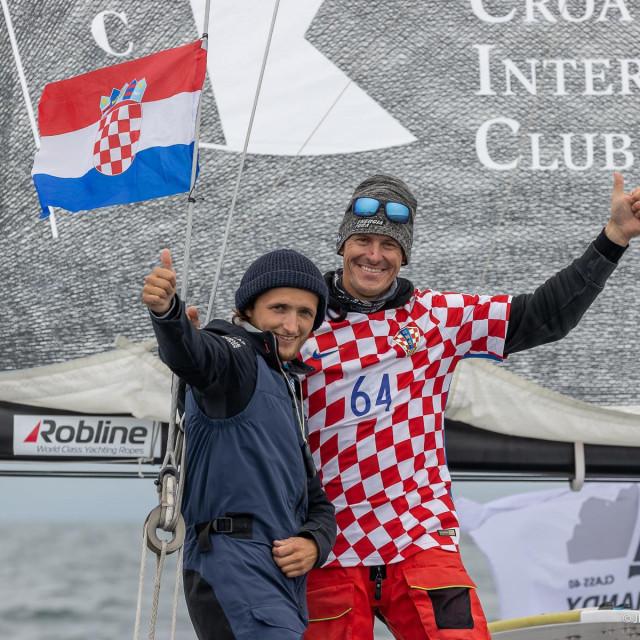 Odličan posao hrvatsko-francuskog dvojca - Ivica Kostelić s co-skipperom Calliseom Antoineom