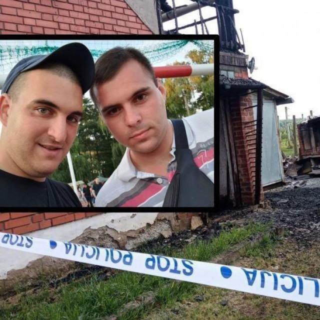U stravičnom požaru u Puričanima kod Bjelovara smrtno su stradali najbolji prijatelji Luka i Mario