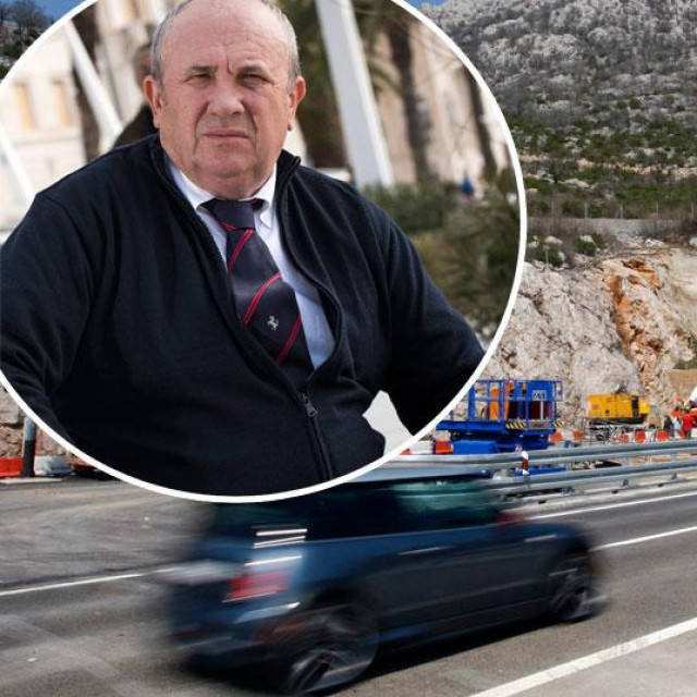 Željko Kerum je imao prometnu nesreću kod tunela sv. Rok (arhivska fotografija)