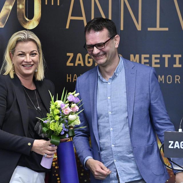 Ana Hanžeković Krznarić i Robert Šola.<br />
