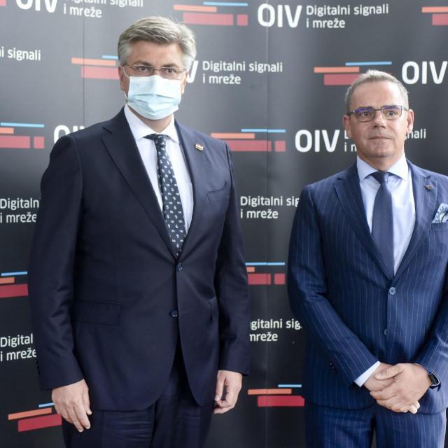 Andrej Plenkovic i Mate Botica