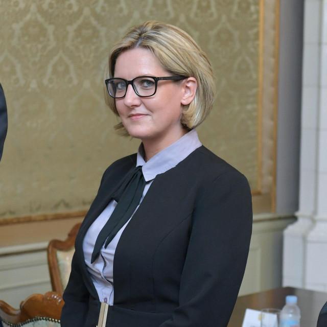 Jasna Vojnić, predsjednica Hrvatskog nacionalnog vijeća u Republici Srbiji<br />