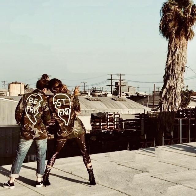 Halle Berry s najboljom prijateljicom