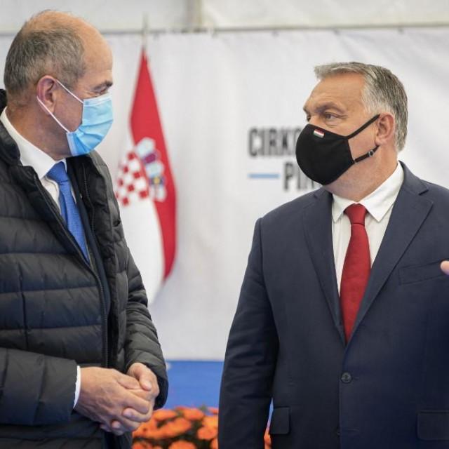 Janez Janša i Viktor Orban
