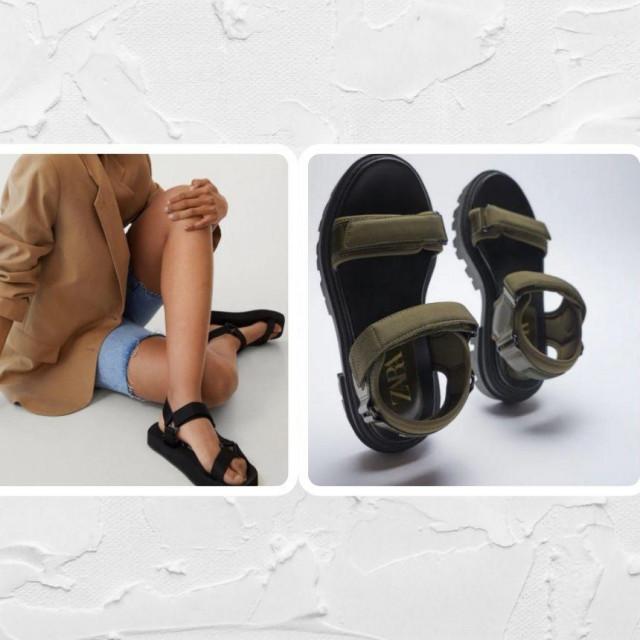 Chunky sandale