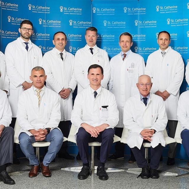 Djelatnici Specijalne bolnice Sv. Katarina, Klinike za ortopediju Medicinskog fakulteta Sveučilišta Josip Juraj Strossmajer u Osijeku
