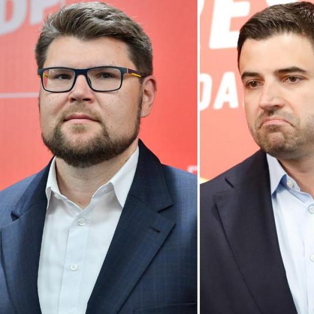 Peđa Grbin, Davor Bernardić, Rajko Ostojić i Nikša Vukas