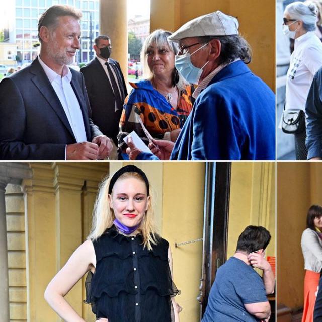 (gore) Gordan Jandroković;Filip Šovagović iĐorđe Kukuljica<br /> (dolje)Natalija Đorđević;Tatjana i Ivo Josipović
