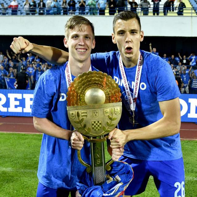 Dani Olmo i Filip Benković 2018. godine