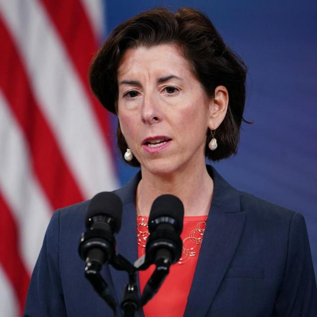 Američka ministrica Gina Raimondo