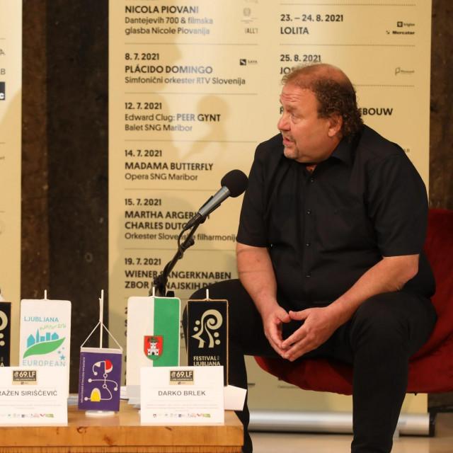 Predstavljanje programa 69. Ljubljana Festivala: Dražen Siriščević i Darko Brlek