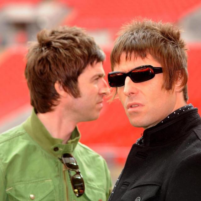 Noel i Liam Gallagher