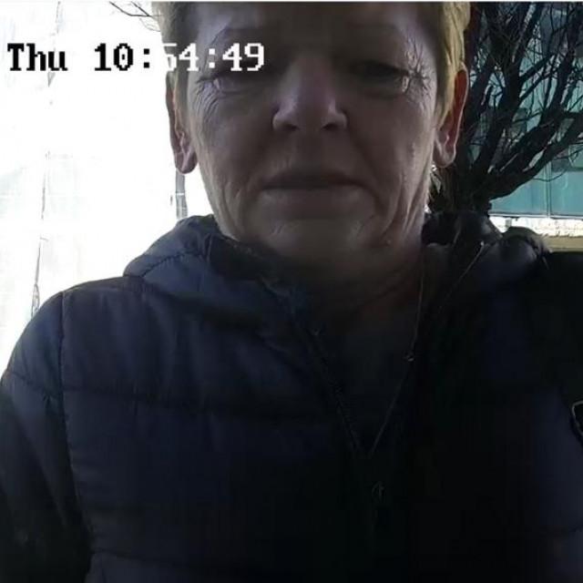 Žena koju se sumnjiči za krađu