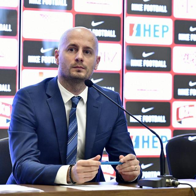 Tomislav Pacak, glasnogovornik HNS-a i Zlatko Dalić, izbornik Vatrenih