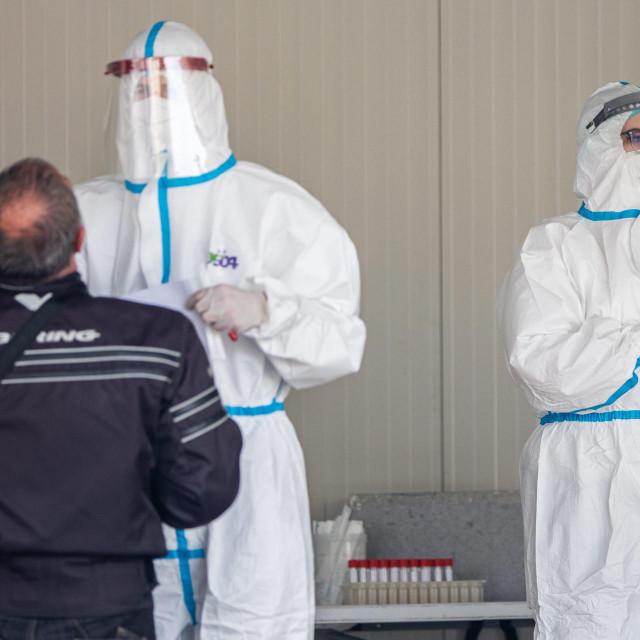 Testiranje na koronavirus