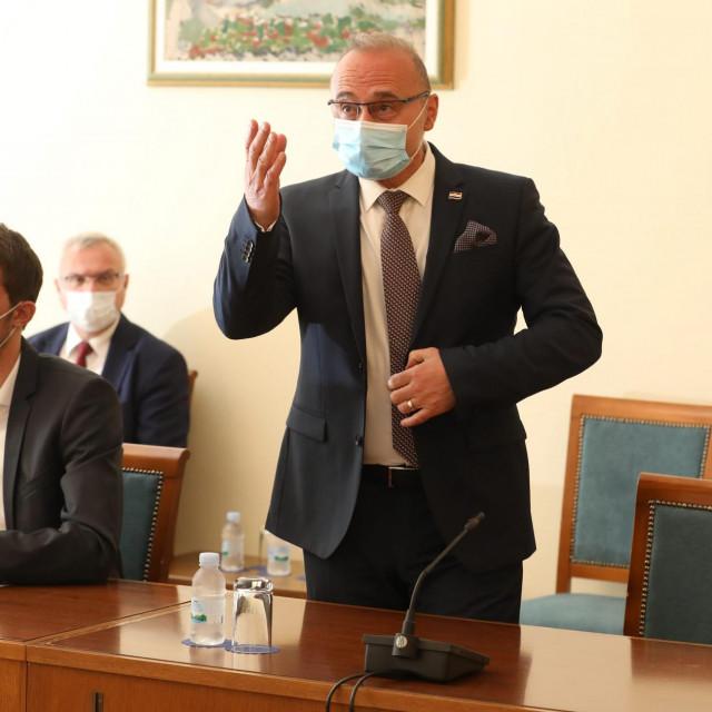 Gordan Grlić Radman na SjedniciNacionalnog vijeća za praćenje provedbe Strategije suzbijanja korupcije