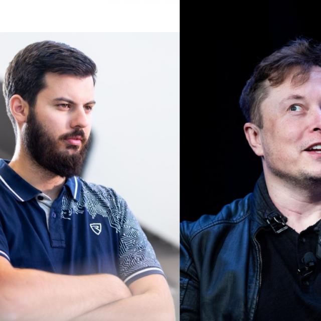 Mate Rimac, Elon Musk