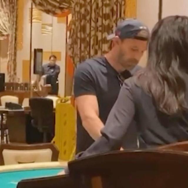 Ben Affleck u Las Vegasu u kockarnici