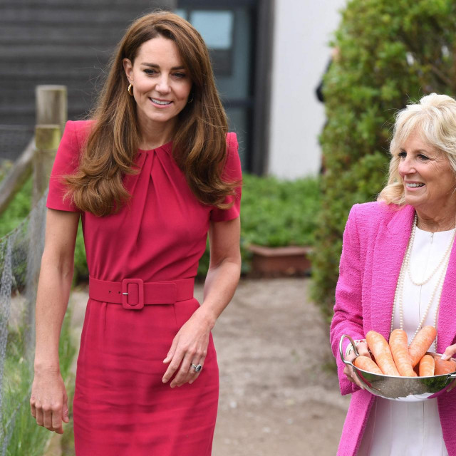 Kate, vojvotkinja od Cambridgea s Prvom damom SAD-a, Jill Biden