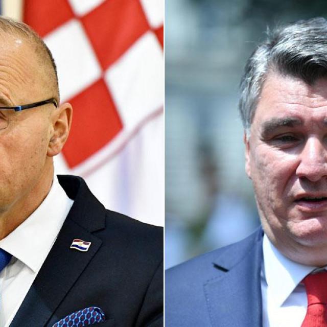 Gordan Grlić Radman, Zoran Milanović