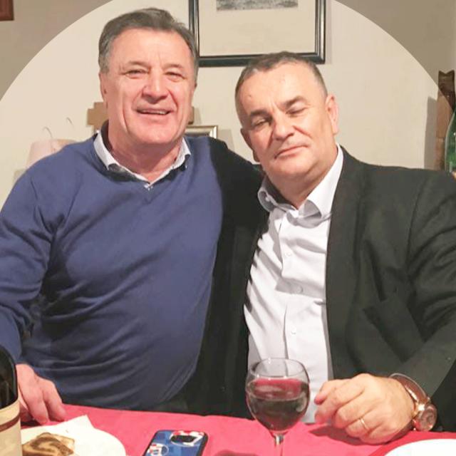 Drago Tadić i Zdravko Mamić
