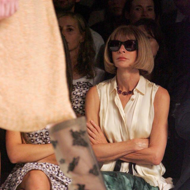 Poznato je da na evente nikada ne kasni, u prve redove modnih revija uvijek dolazi prije svih