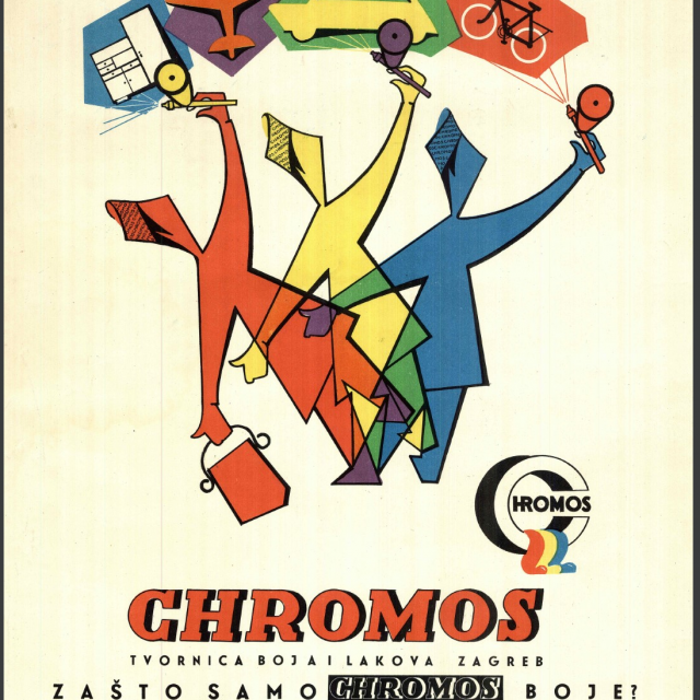 Milan Vulpe: Reklama za Chromos