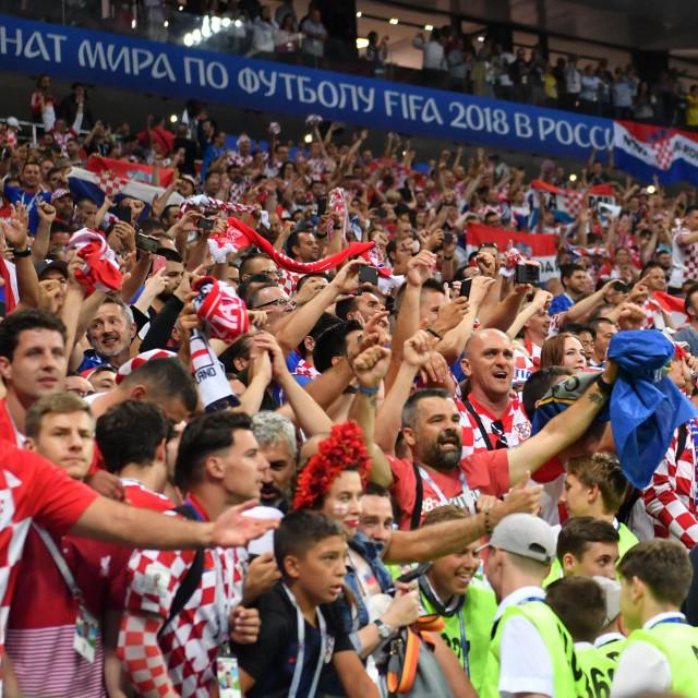 Hrvatski navijači s SP-a u Rusiji